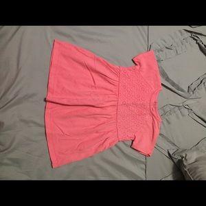 Pink dress size 12 months